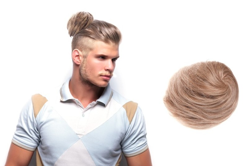 credit: http://www.details.com/story/man-bun-clip-on-groupon