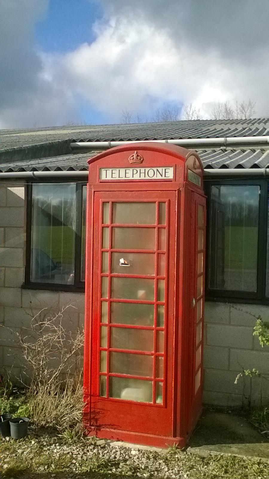 かわいい公衆電話